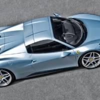 Ferrari 458 Spider tweaked by A. Kahn Design