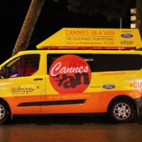 Ford Transit Van stars at 2013 Cannes Festival