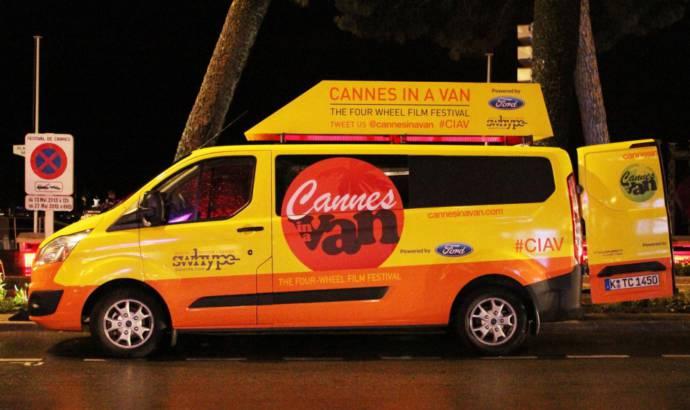 Ford Transit Van stars at 2013 Cannes Festival