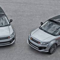 Land Rover Evoque RS250 Orkney Grey - a new styling package from A. Kahn Design