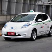 Nissan Leaf starts to be popular as a taxi in Europe