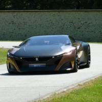 Peugeot Onyx Concept, the main attraction at 2013 Goodwood Festival of Speed