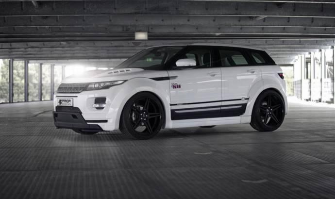 Range Rover Evoque modified by Prior Design