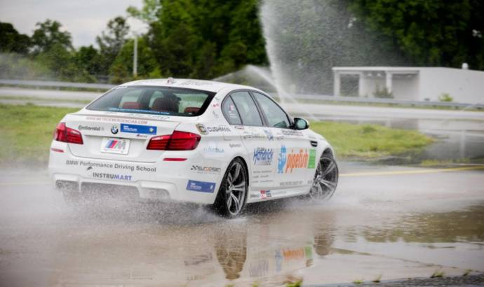 VIDEO: BMW M5 drift world record caught on tape