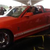 Video: Shelby GT500 destroys a dyno in Canada