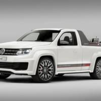 Volkswagen Amarok Power-Pickup, official debut in Worthersee