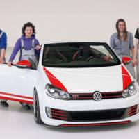 Volkswagen Golf GTI Cabrio Austria makes public debut in Worthersee