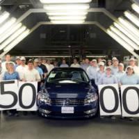 Volkswagen builds its 250.000 Passat in Chattanooga plant