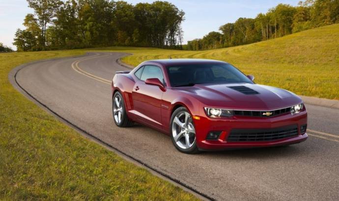 2013 Chevrolet Camaro facelift starts from 35.320 pounds in the UK
