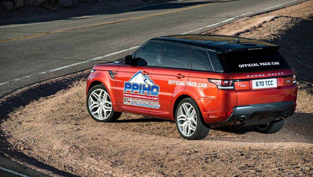 2013 Range Rover Sport will act as a pace car for this year's Pikes Peak run
