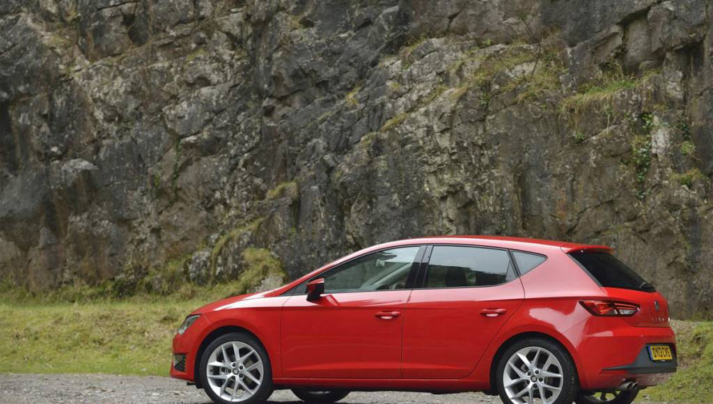 2013 Seat Leon FR, priced from 22.075 pounds in the UK