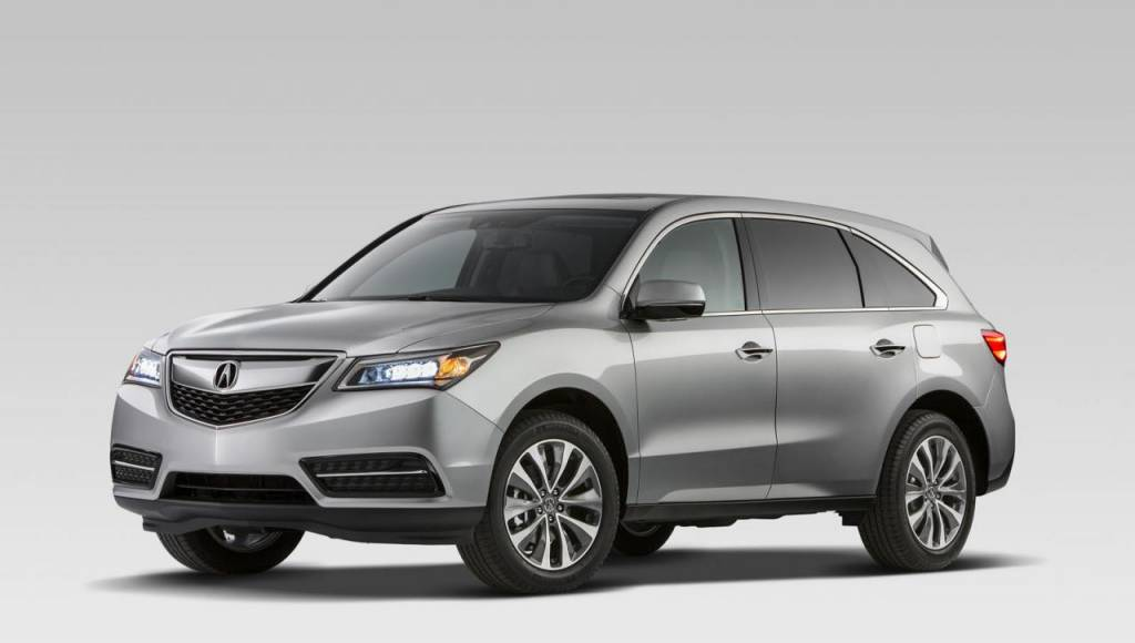 2014 Acura MDX starts from 42290 USD