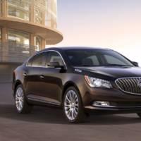 2014 Buick LaCrosse sedan, priced from 34.060 USD