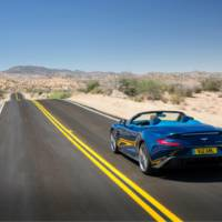 Aston Martin Vanquish Volante - official press release and photos