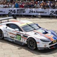Aston Martin unveiled its Gulf livery for this year Le Mans 24 hours