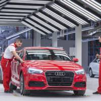 Audi A3 sedan enters production in Gyor, Hungary