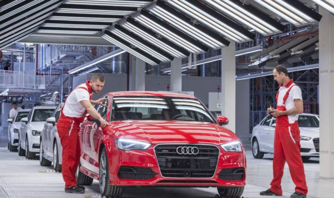 Audi A3 sedan enters production in Gyor, Hungary