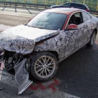 BMW 2-Series Coupe destroyed during testing in Germany