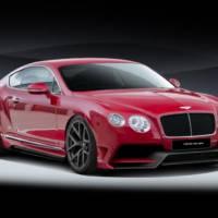 Bentley Continental GT modified by Vorsteiner