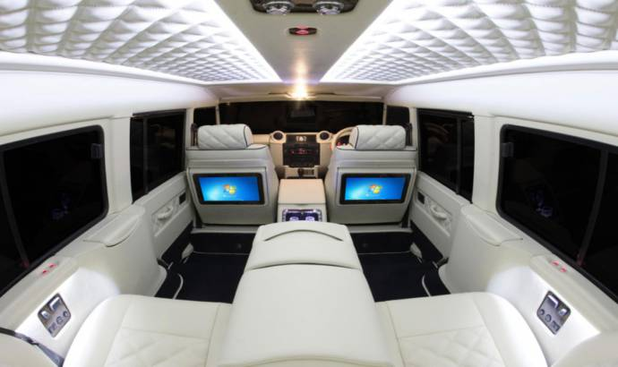 Carisma Land Rover Defender redefines luxury