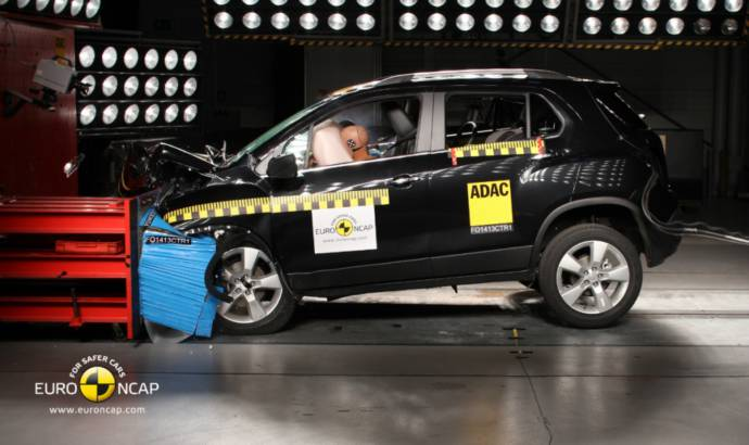 Chevrolet Trax got five stars in EuroNCAP latest session