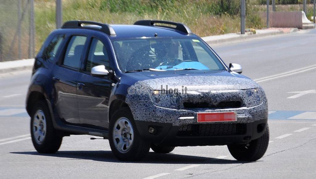 Dacia Duster facelift will debut at Frankfurt Auto Show