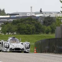 First official pictures of the Porsche LMP1 Prototype