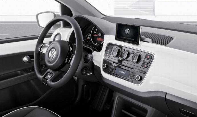 Garmin unveiled a new infotainment device for Volkswagen Up
