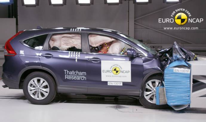 Honda CR-V gets 5 stars after EuroNCAP testing