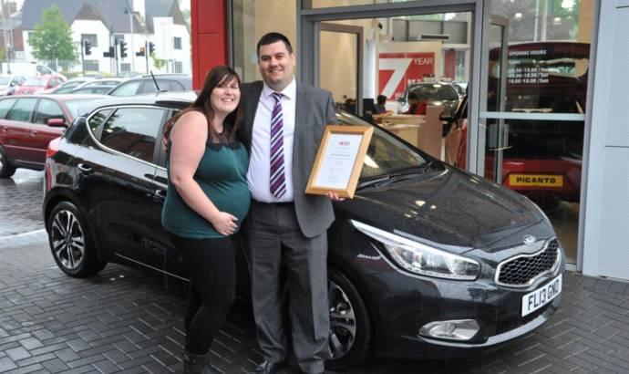 Kia sold 500.000 cars in UK since 1991