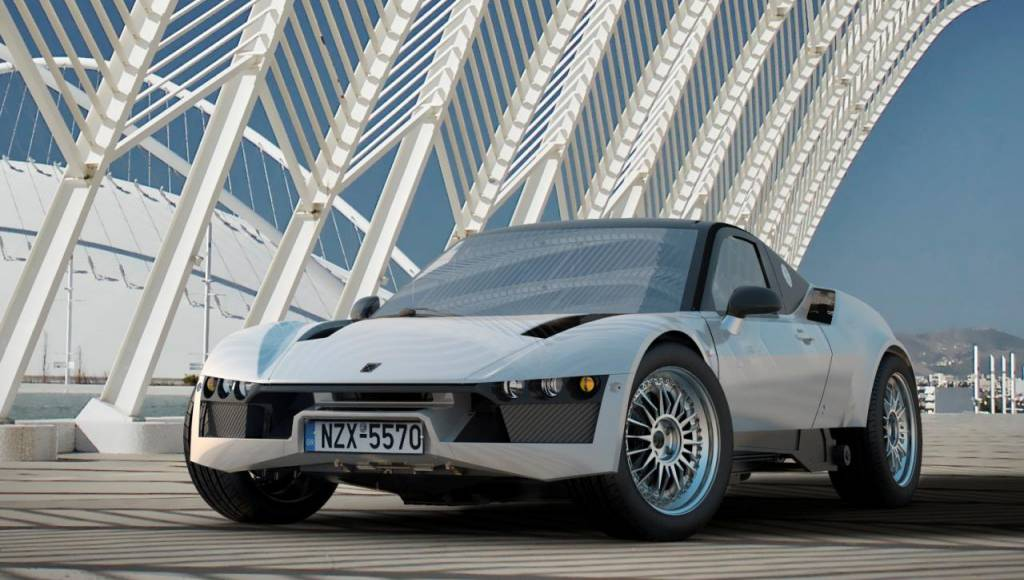 Korres Project 4 - The Greek supercar with more than 500 HP