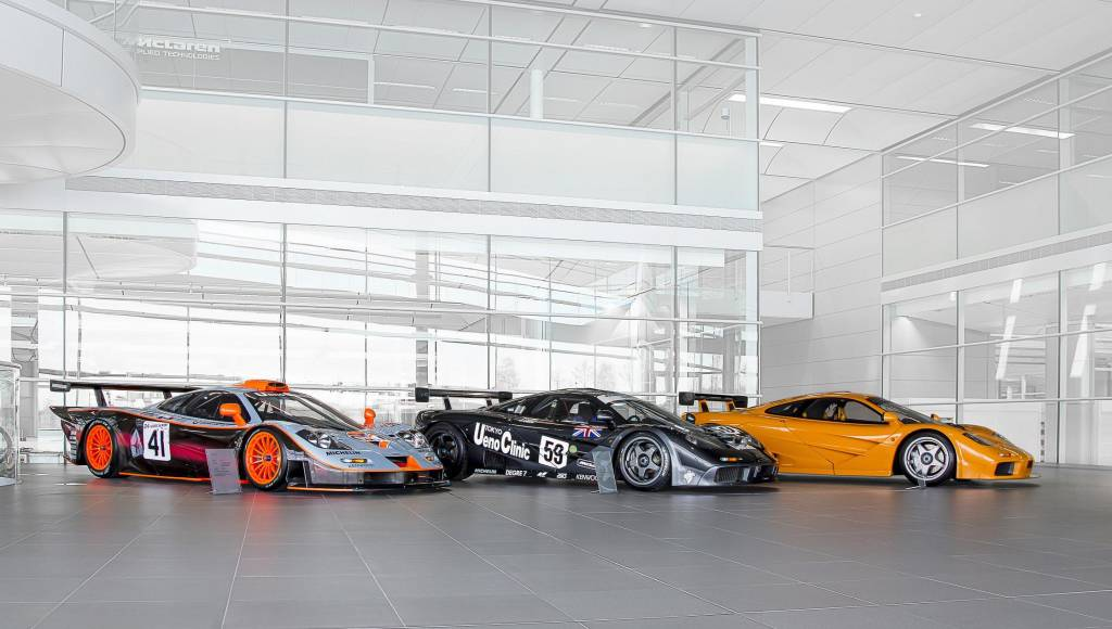 McLaren honours its LeMans heritage at this year's Goodwood Festival of Speed