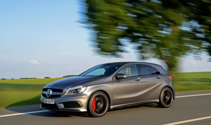Mercedes A45 AMG to cost 37.845 in the UK