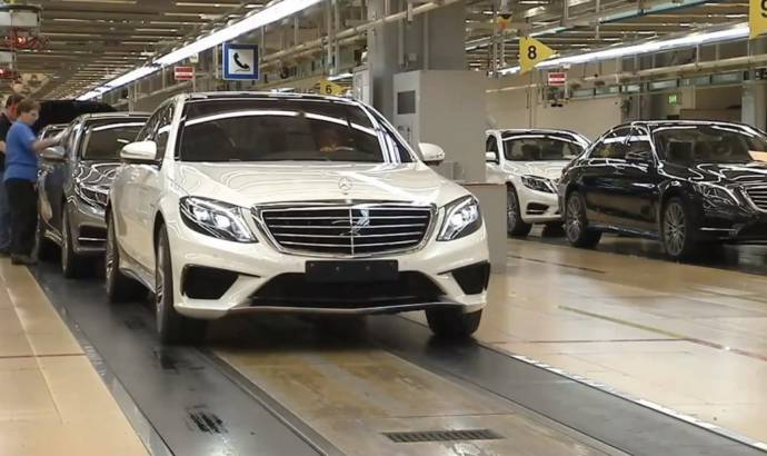 Mercedes-Benz S63 AMG accidentally unveiled
