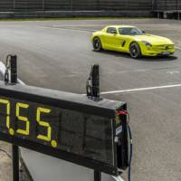 Mercedes SLS AMG EV is the fastest electric car on the Nurburgring
