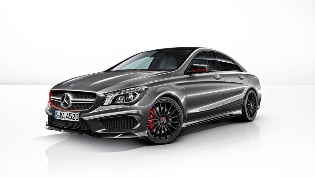 Mercedes announces the CLA 45 AMG Edition 1