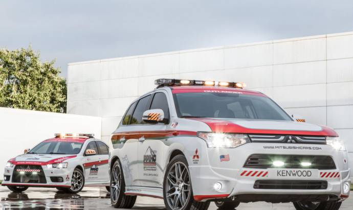 Mitsubishi Outlander and Lancer Evolution, to feature as Safety Vehicles at Pikes Peak
