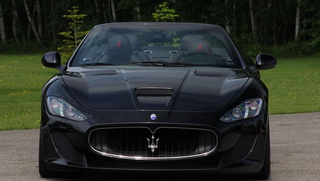 Novitec Tridente Maserati GranCabrio MC tuning kit unveiled