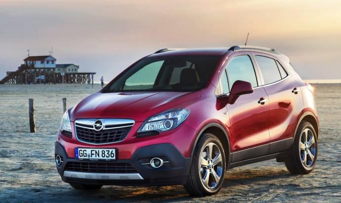 Opel Mokka receives front wheel drive for its 140 hp petrol engine