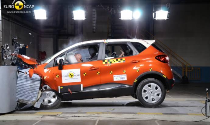 Renault Captur scored 5 stars in EuroNCAP