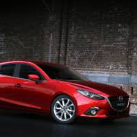 This is the new 2014 Mazda3 hatchback