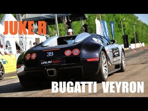Video: Bugatti veyron almost beaten by a tuned Nissan Juke R