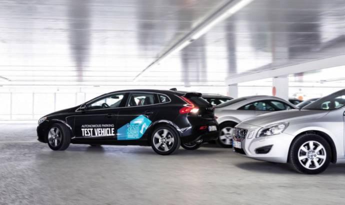Video: This is the Volvo V40 Autonomous Parking Concept