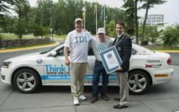 Volkswagen Passat TDI sets a new Guinness World Records