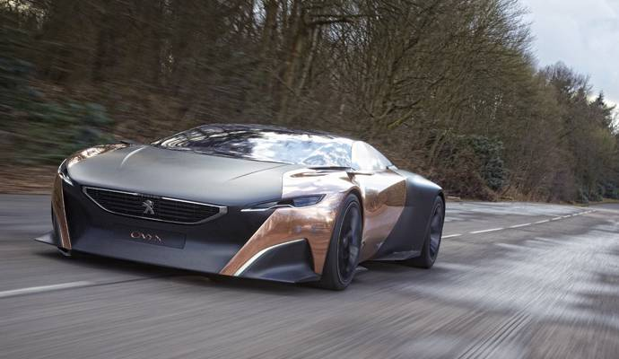 Peugeot offers you the chance to ride its Onyx Concept at Goodwood