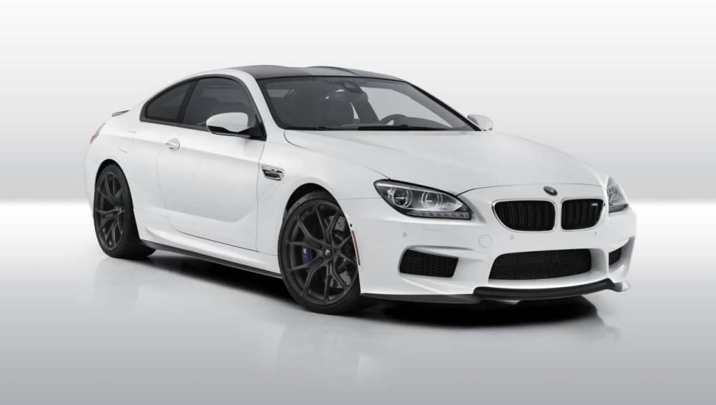 Vorsteiner BMW M6 tuning package introduced