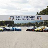 Bugatti strikes at Paul Ricard Circuit