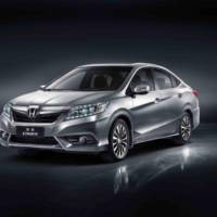 Honda Crider - a new saloon for Chinese market