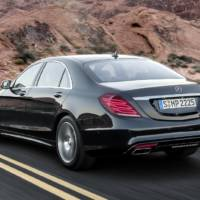 Mercedes S-Class, priced from 62.650 pounds in the UK