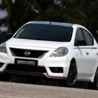 Nissan Almera Nismo Performance Package Concept unveiled in Malaysia